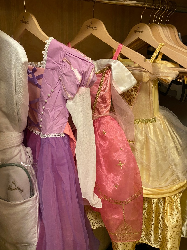 Disneyland Paris princess dresses